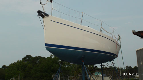 Port Side of Bow