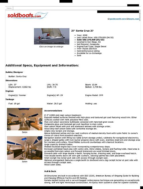 Boat listing 1