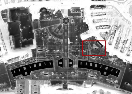 Aerial Thermal Image