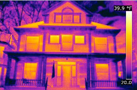 IR image of House