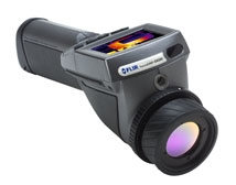 New ThermaCAM® EX320 from FLIR Systems has exceptionally high resolution, low cost.