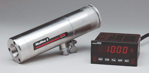 The DPM Digital Panel Meter provides a remote interface to the Ircon Modline 5 Infrared Thermometer